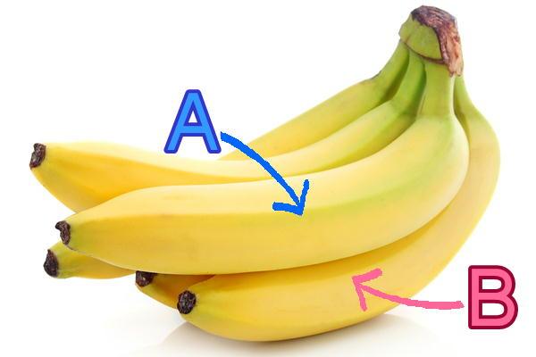 バナナの大きさ